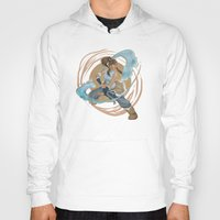 the legend of korra Hoodies featuring Korra by Vaahlkult