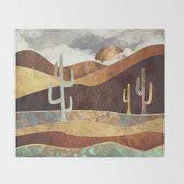 Patina Desert Throw Blanket