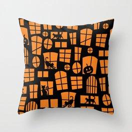 Halloween-10 Throw Pillow