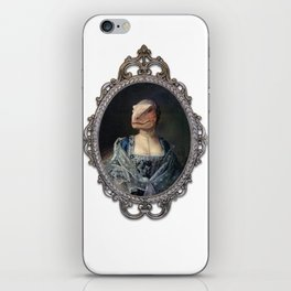 Framed Dame Deinonychus iPhone Skin