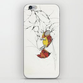 Disappearing bees iPhone Skin