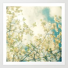Clusters in the Sky Art Print