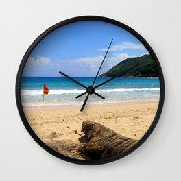 Dream Phuket beach Wall Clock