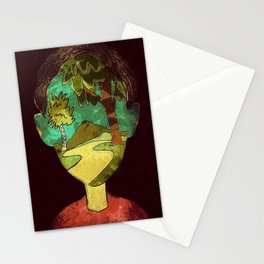 Un Rostro Natural - Face of Nature Stationery Cards