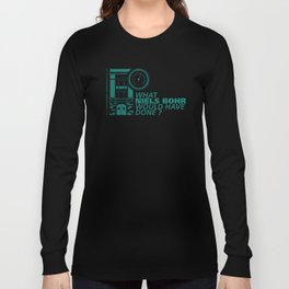 Niels BOHR Long Sleeve T-shirt