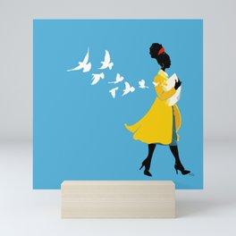 Be the Light Mini Art Print