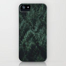 Dark Pines iPhone Case