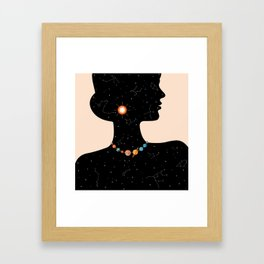 Miss Universe Framed Art Print