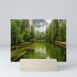 Merced River, Yosemite Valley Mini Art Print