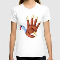 turkey T-shirts featuring 1st Turkey by KristenOKeefeArt
