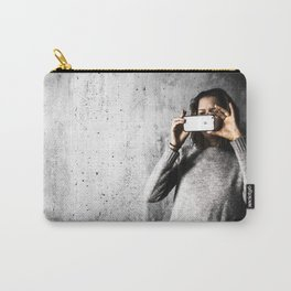 She take picture Carry-All Pouch