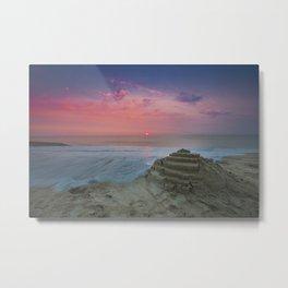 Slow Water at Sunrise Metal Print