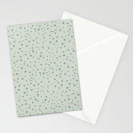 PolkaDots-Juniper on Mint Stationery Cards