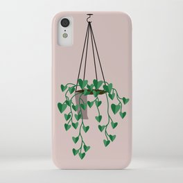 hanging house plant iPhone Case