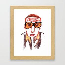 Spud Framed Art Print