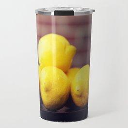 Lemon Fresh Travel Mug