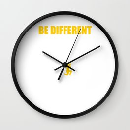 Be Different Paintball Player Paintball Marker Gift Wall Clock