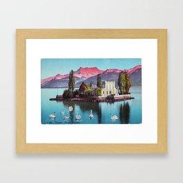 Ile des Mouettes Framed Art Print