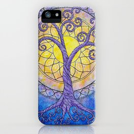 Illuminate Series tree of life mandala iPhone Case
