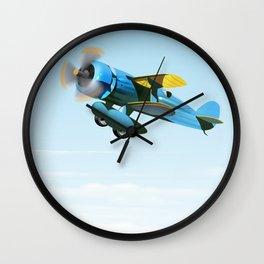 Vintage Prop aircraft Wall Clock