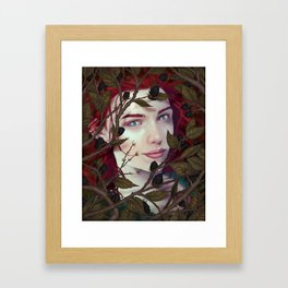 Blackberry Valentine Framed Art Print