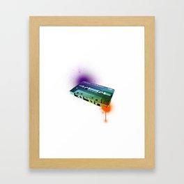 Tapes Framed Art Print