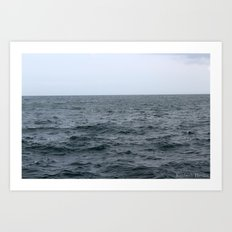 Stormy Waves Art Print