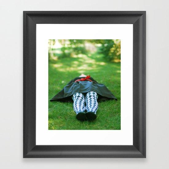 Dreaming Framed Art Print