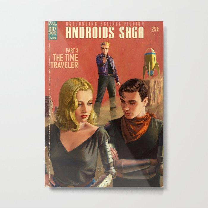 Androids Saga - The Time Traveler Metal Print