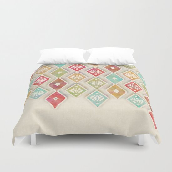 hanging ornaments Duvet Cover