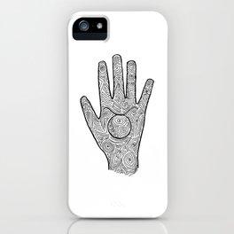 Hamsa / Hand Taurus iPhone Case