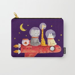 Let's All Go To Mars Carry-All Pouch