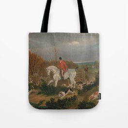 The Suffolk Hunt - John Frederick Herring Tote Bag