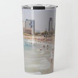 Tel Aviv Beach Day Travel Mug