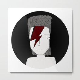 Bowie, Bowie, Bowie Metal Print