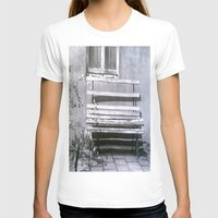 jewish T-shirts featuring Many quiet moments to rest by Brown Eyed Lady