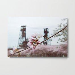 Portland Spring Metal Print