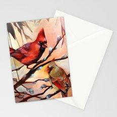Cardinal Love Stationery Cards