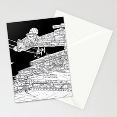Millenium Falcon unedited Stationery Cards