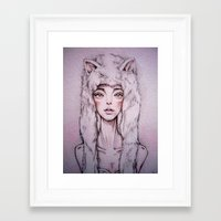 there will be blood Framed Art Prints featuring blood by n_ist