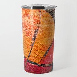 Basketball art swoosh vs 15 Travel Mug