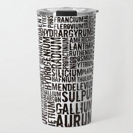 Chemical Elements Travel Mug