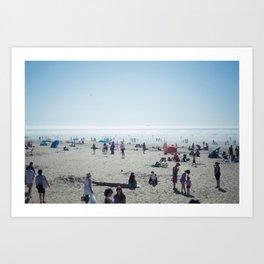 Sunday at Cannon Beach Art Print