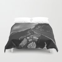 watch Duvet Covers featuring watch by heretosaveyouall