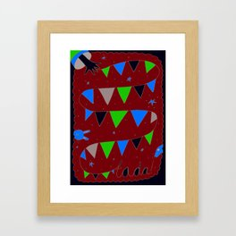 Ta-Da! Framed Art Print
