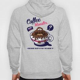 Coffee Monster Pink Hoody