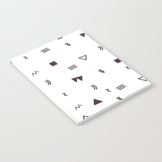 Black and white pattern Notebook