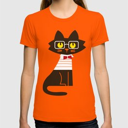 Fitz - Preppy cat T-shirt