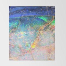 Ocean Opal Throw Blanket