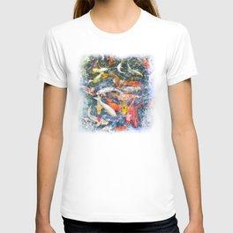 Koi Carp Splash T-shirt